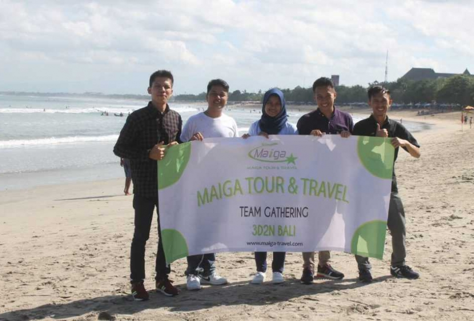 Team Gathring Bali Maiga Travel